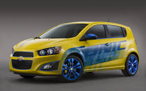 Chevrolet Sonic RS Performance Concept.