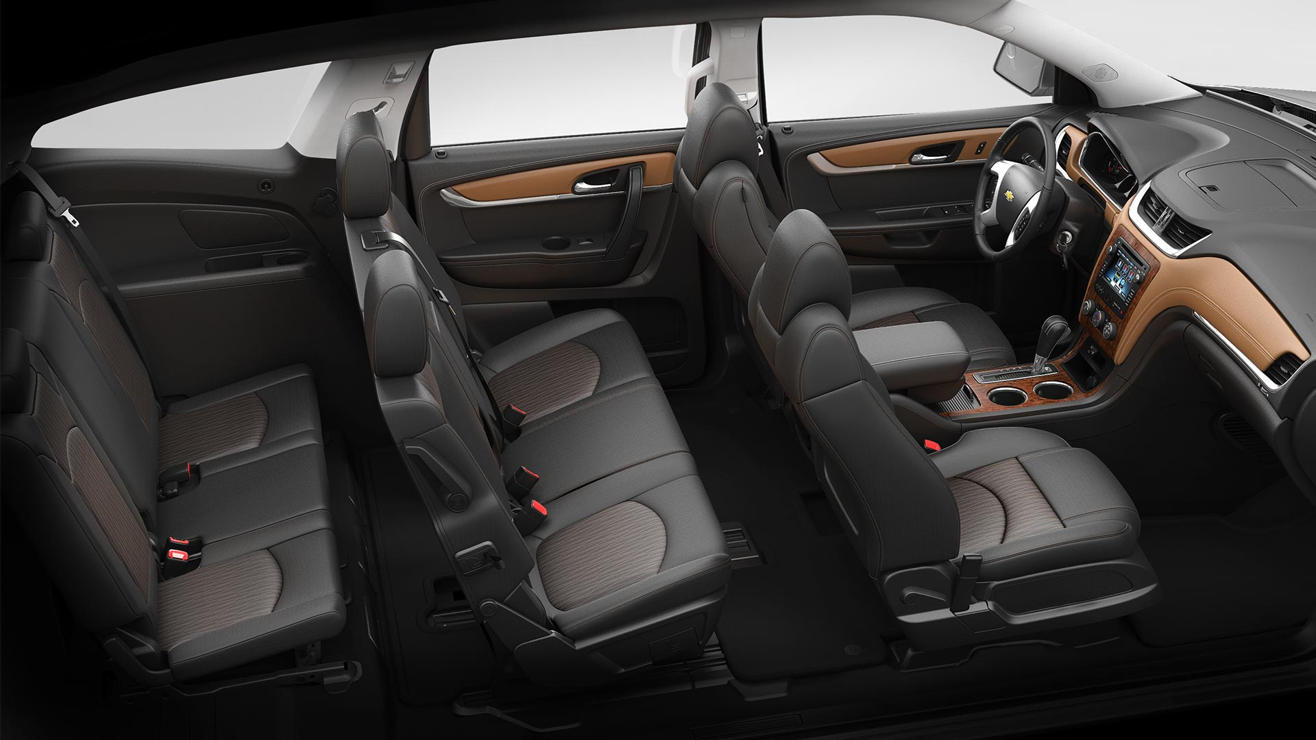 Chevrolet traverse 2014 talla desempe o calidad y comodidad lista de carros for Traverse high country interior