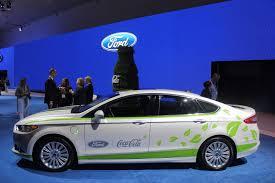 Salón de Los Ángeles 2013: Ford Fusion Energi y Coca-Cola