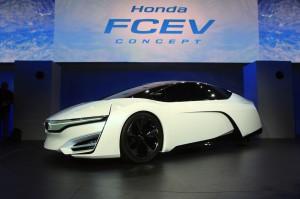 Honda FCEV Concept: listo para 2015.