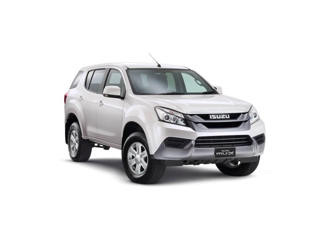 Isuzu MU-X 2014: una SUV de 7 plazas. | Lista de Carros