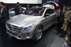 Salón de Los Ángeles 2013: Mercedes Benz GLA Concept.