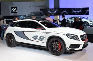 Salón de Los Ángeles 2013: Mercedes Benz GLA 45 AMG Concept.