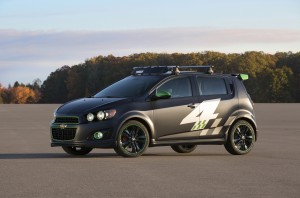 Ricky Carmichael All-Activity Chevrolet Sonic concept.