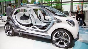 Smart Fourjoy Concept:  el primer carro de 4 puertas de Smart.