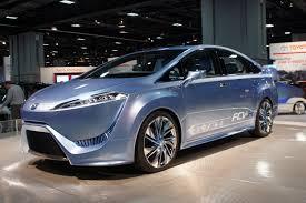 Toyota FCV Concept: los carros del futuro serán de hidrógeno.