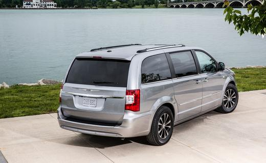 chrysler town country 2014 una minivan bien pensada lista de carros. Black Bedroom Furniture Sets. Home Design Ideas