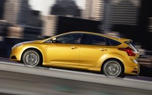 Ford Focus ST 2014: bello, divertido y potente.