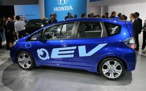 Honda Fit EV 2014: un interesante carro eléctrico.