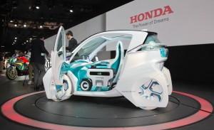 Honda Micro Commuter Concept: el rival para el Renault Twizy.