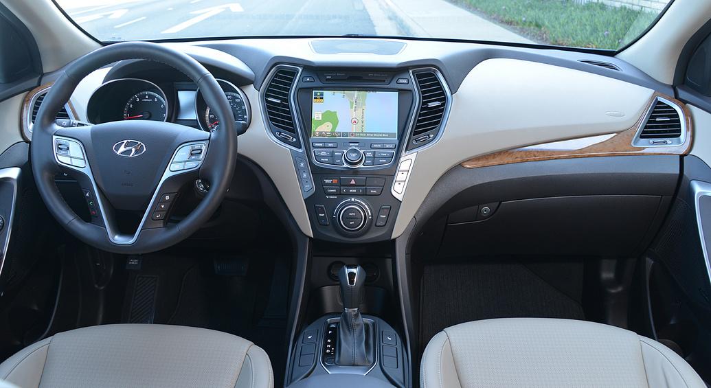 Interior De La Nueva Hyundai Santa Fe 2014 Lista De Carros
