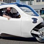 Lit Motors C1: ¿moto ó carro eléctricos de 2 ruedas?