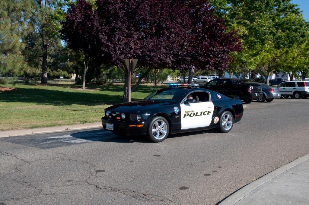 Danville Police Mustang Parade Lista De Carros