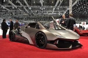 Sbarro Evoluzione Concept: una mezcla entre un Lamborghini y el Batimóvil.