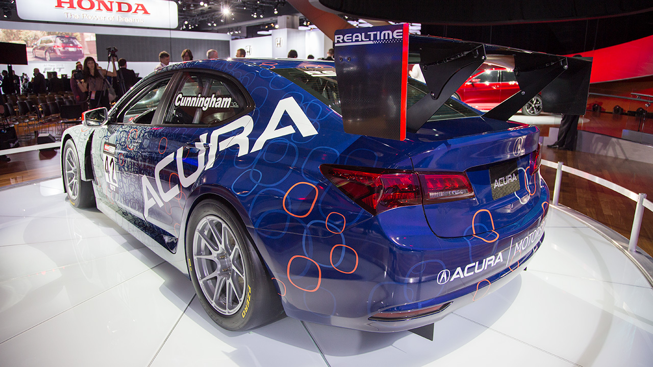 acura tlx gt race car lista de carros. Black Bedroom Furniture Sets. Home Design Ideas