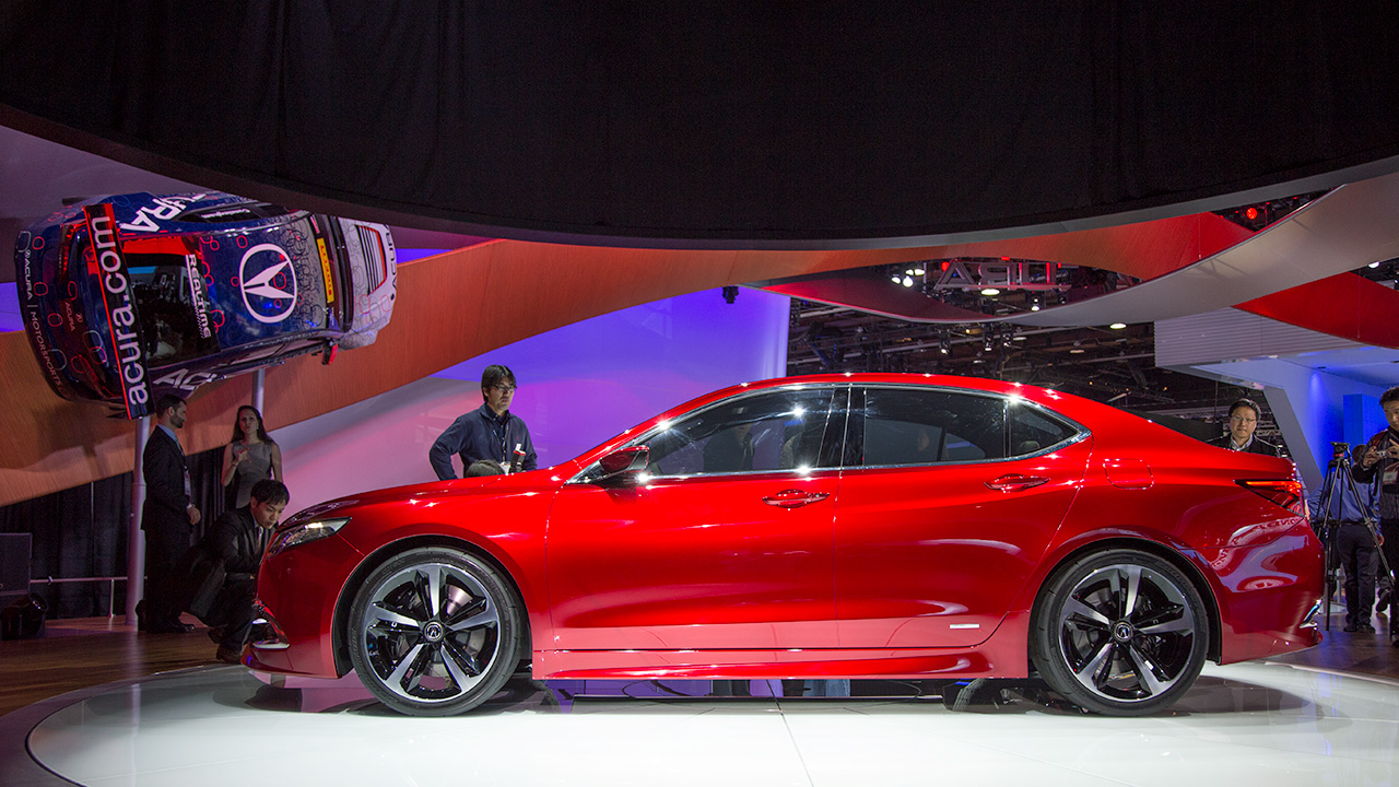 2015 acura tlx prototype release date price and specs. Black Bedroom Furniture Sets. Home Design Ideas