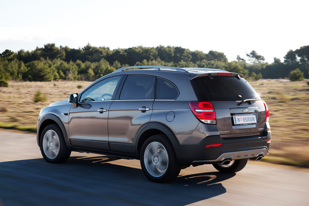 Chevrolet Captiva 2014 A Chile | Autos Weblog