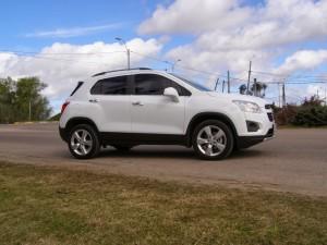Chevrolet Tracker 2014: proporcionada, elegante y armoniosa.