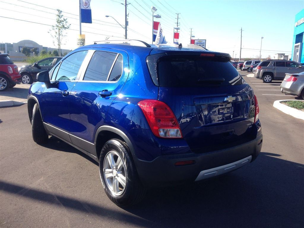 Chevrolet Trax on Jeep Airbags