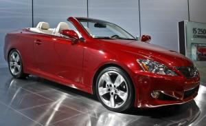 Lexus IS C 2014: un Convertible potente, elegante y divertido.