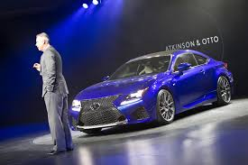 Auto Show de Detroit 2014: Lexus RC-F Coupé 2015, una bestia de 450CV.