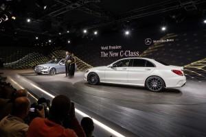 Auto Show de Detroit 2014: Nuevo Mercedes Clase C Sedán 2015.
