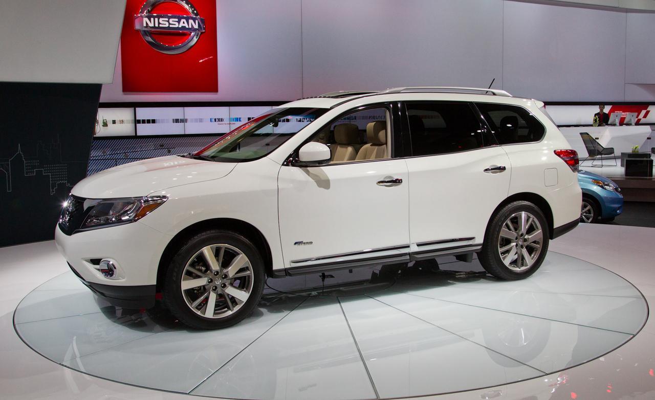 Nissan Pathfinder 2014 Espacio Lujo Equipamiento Y