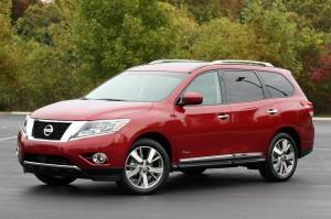 Nissan Pathfinder Hybrid 2014: hermosa y eficiente.