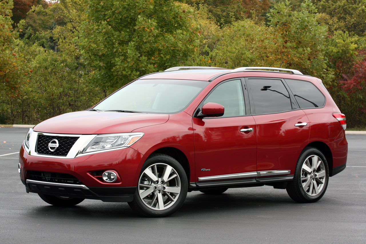 Review of the 2014 nissan pathfinder hybrid sport utility autos post
