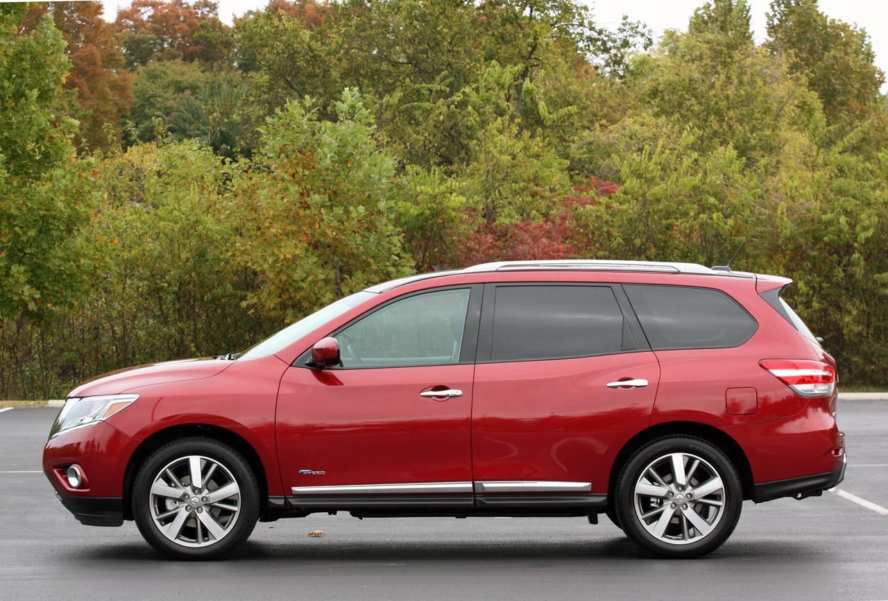 Nissan Pathfinder Hybrid 2014 Hermosa Y Eficiente