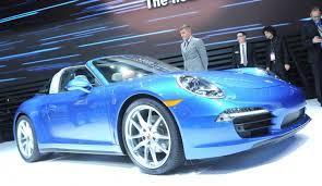 Salón de Detroit 2014: Nuevo Porsche 911 Targa 2014.