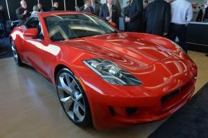 Salón de Detroit 2014: VL Destino Red Concept, o un Fisker Karma Descapotable.