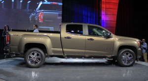 Auto Show de Detroit 2014: GMC Canyon 2015.