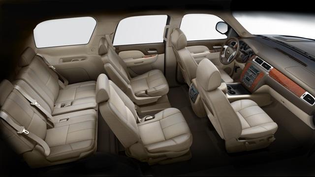Interior Del Chevrolet Tahoe 2014 Lista De Carros