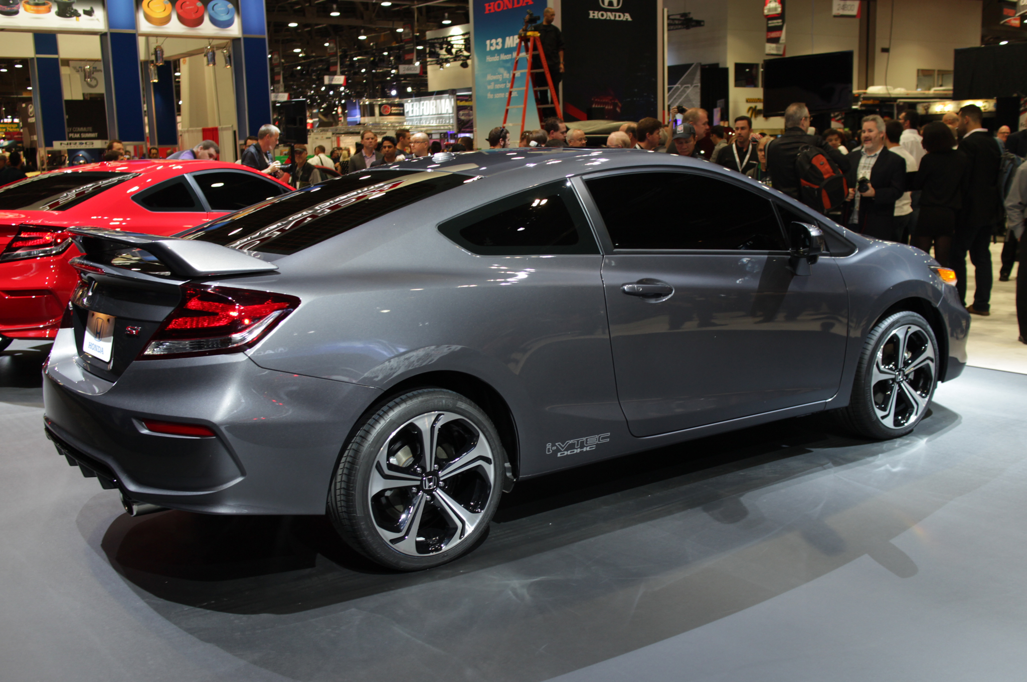 honda civic coupe si 2014 deportivo potente interesante y muy seguro lista de carros. Black Bedroom Furniture Sets. Home Design Ideas