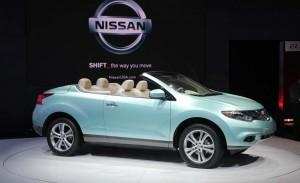 Nissan Murano CrossCabriolet 2014: la única SUV descapotable del mercado.