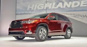 Toyota Highlander 2014: ahora más moderna y fluida.