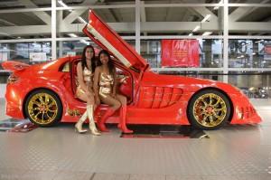 Anliker SLR 999 Red Gold Dream: una obra de arte de cuatro ruedas.