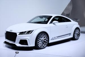 Salón de Ginebra  2014: Audi TT quattro Sport Concept, mucho más radical.