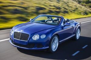 Bentley Continental GT Speed Convertible: el descapotable mas rápido del mundo.