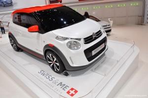 Salón de Ginebra 2014: Citroën C1 Swiss & Me.