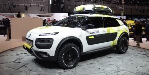 Salón de Ginebra 2014: Citroën C4 Cactus Aventure Concept.