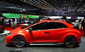 Salón de Ginebra 2014: Honda Civic Type R Concept.