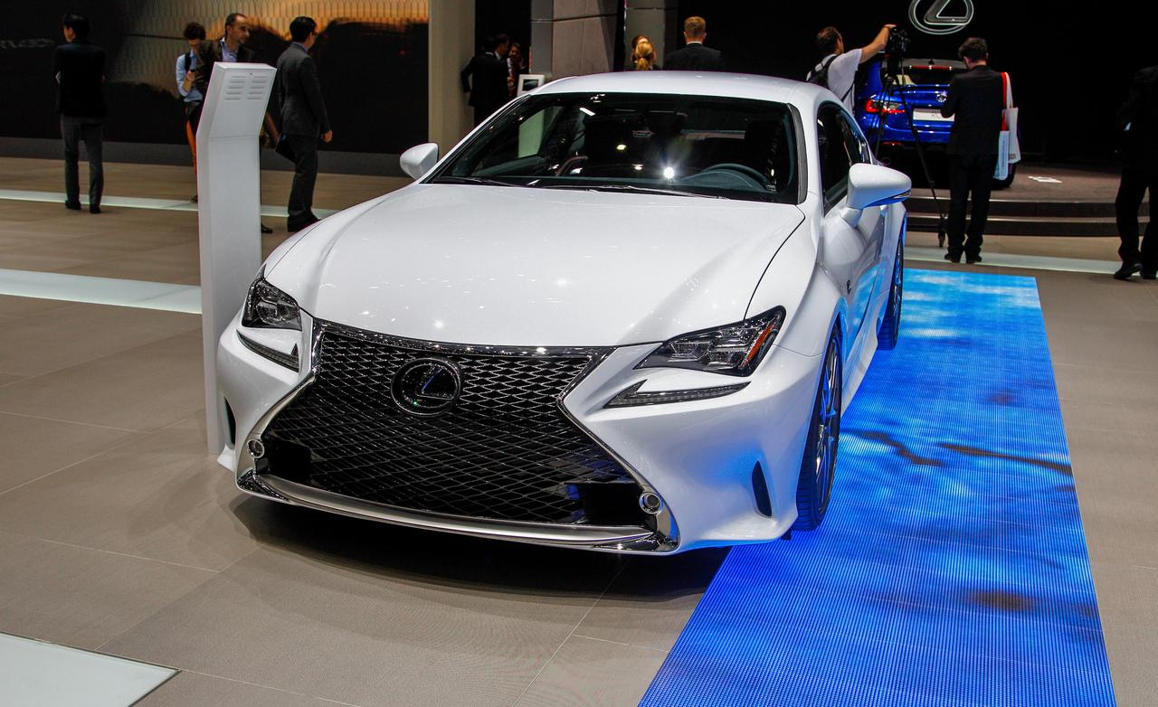 sal n de ginebra 2014 lexus rc 350 f sport 2015 lista. Black Bedroom Furniture Sets. Home Design Ideas