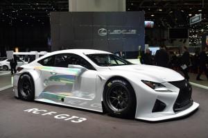 Salón de Ginebra 2014: Lexus RC F GT3 Racing Concept.