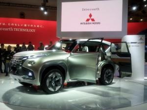 Salón de Ginebra 2014: Mitsubishi Concept GC-PHEV.