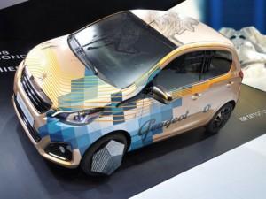 Salón de Ginebra 2014: Peugeot 108 Tatoo concept.