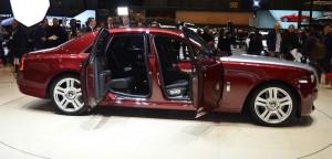 Salón de Ginebra 2014: Rolls-Royce Ghost Series II, lujo sin fin.