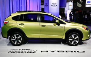 Subaru XV Crosstrek Hybrid 2014: capacidad, eficiencia, elegancia y mucha seguridad.