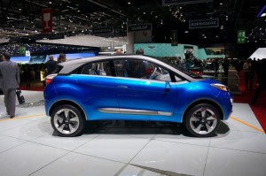 Salón del Automóvil Ginebra 2014: Tata Nexon Concept.